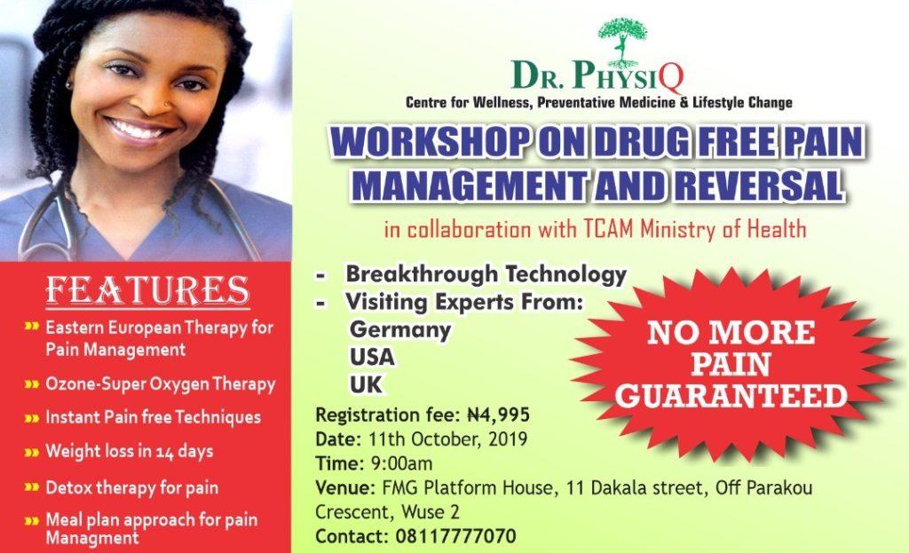 Invitation To Participate In A Wellness Workshop/Seminar
