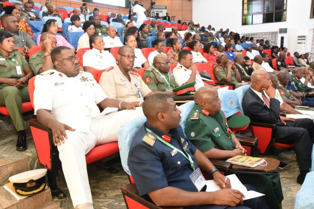 Dr. PhysiQ Delivers Wellness Lecture to Top Military Personnel all over the world at National Defence College, Abuja – Nigeria, March 2020