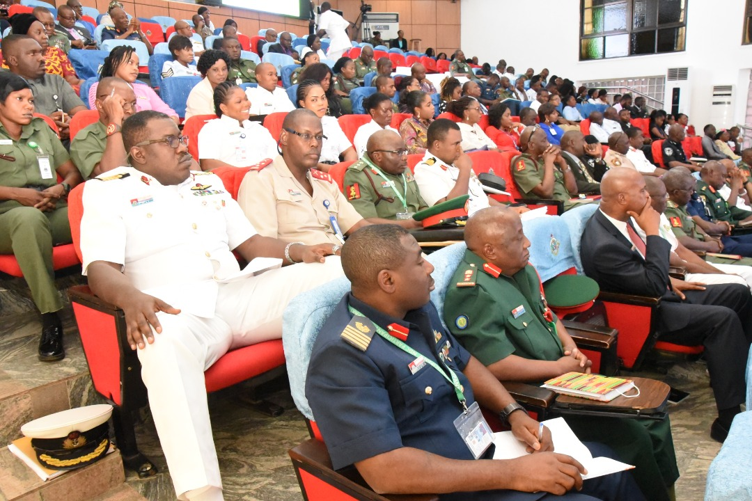 COVID-19 Sensitization for top millitary personnels at National Defence College, Abuja - Nigeria