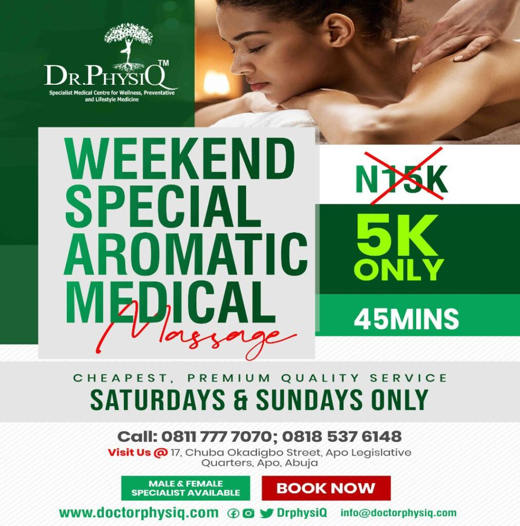 WEEKEND SPECIAL AROMATIC MASSAGE